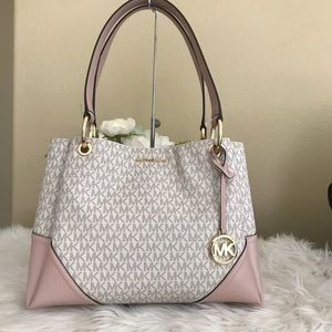 Michael Kors Large Nicole shoulder tote bag